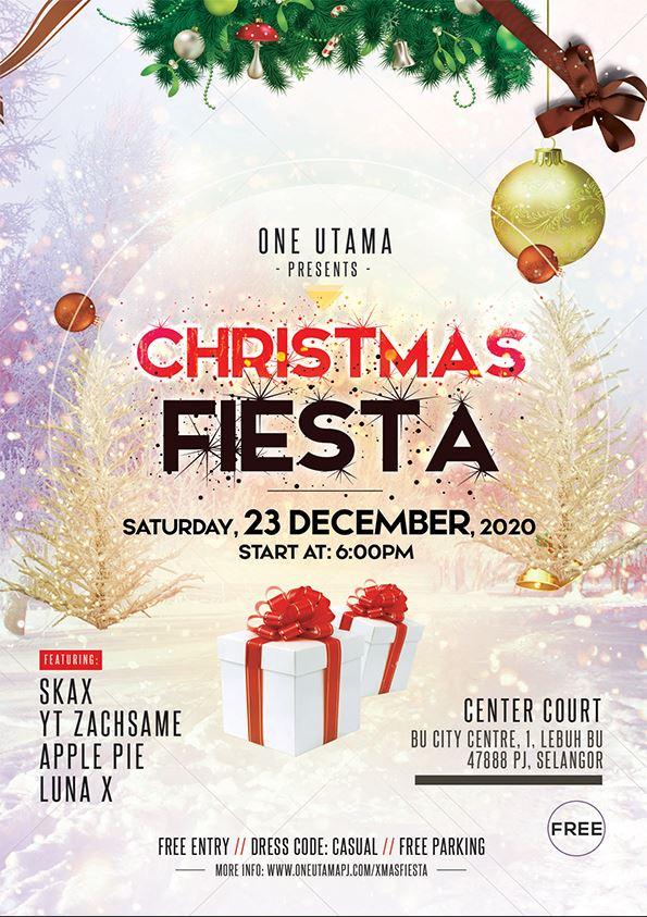 christmas flyer design malaysia