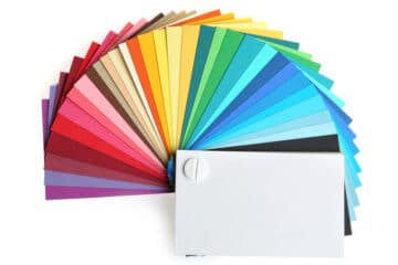 best color for business cards