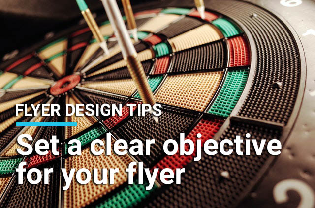 set objective for your flyer