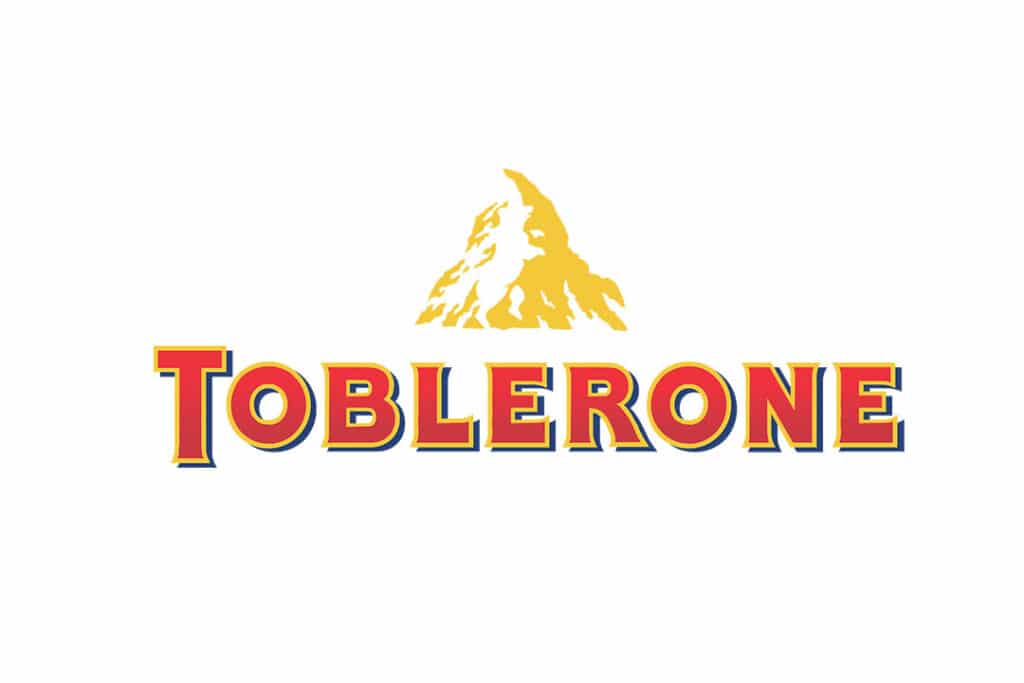 hidden bear in toblerone logo