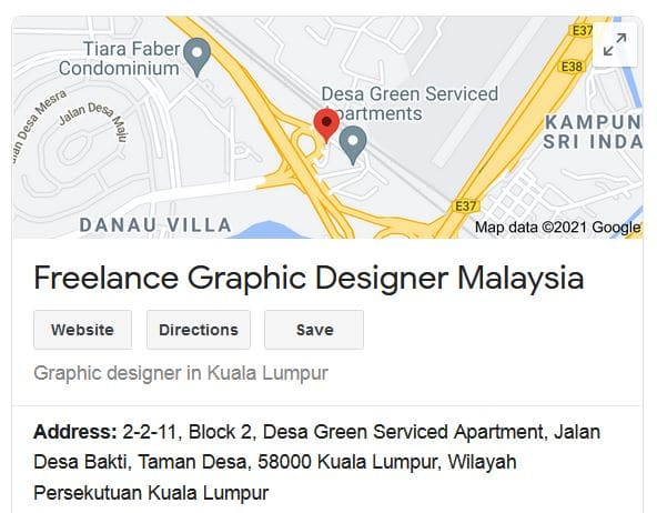 optimize google my business web design package malaysia
