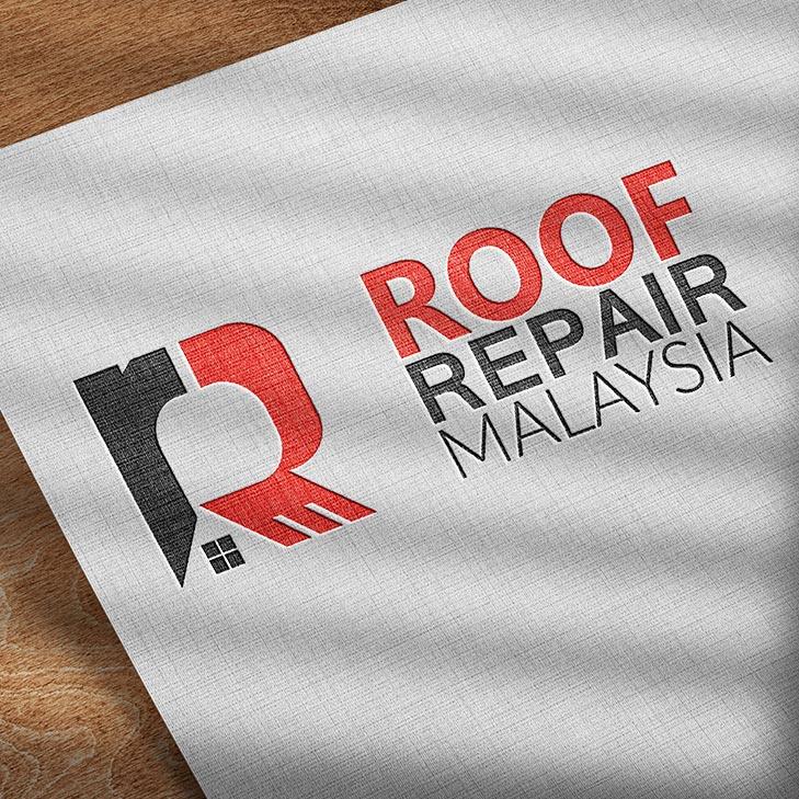 roof repair malaysia logo design