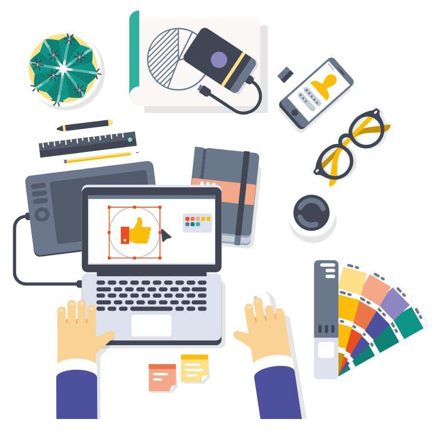 graphic designer malaysia working space
